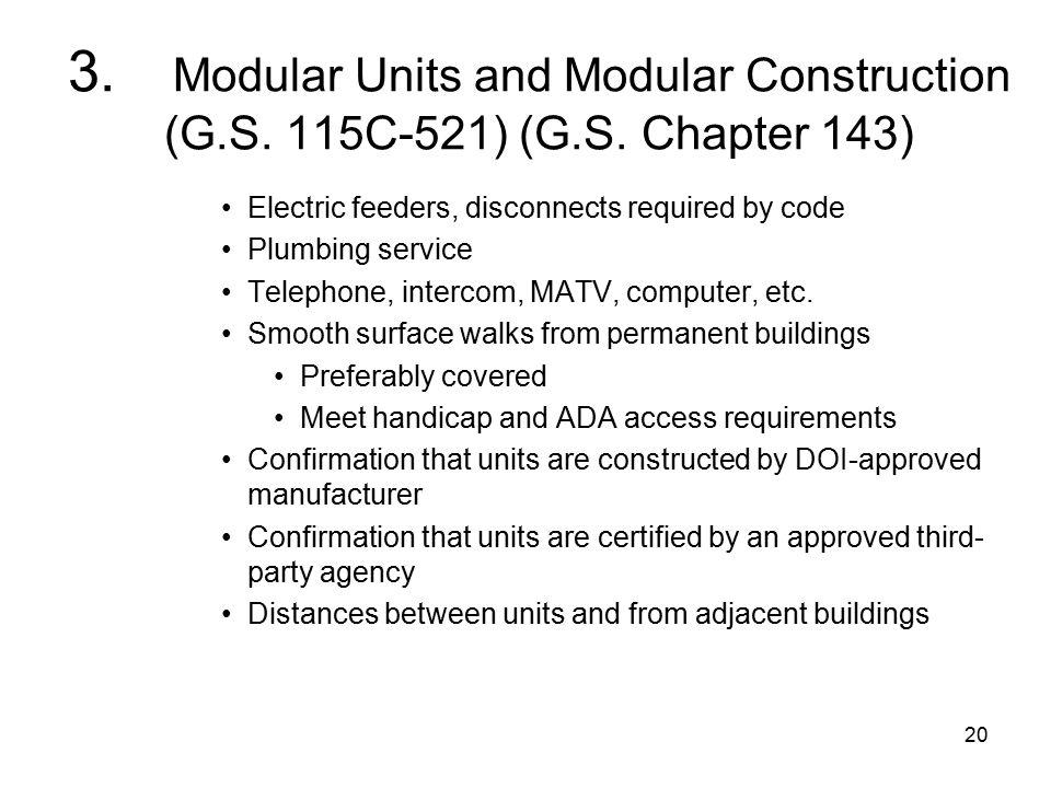 20 3. Modular Units and Modular Construction (G.S.