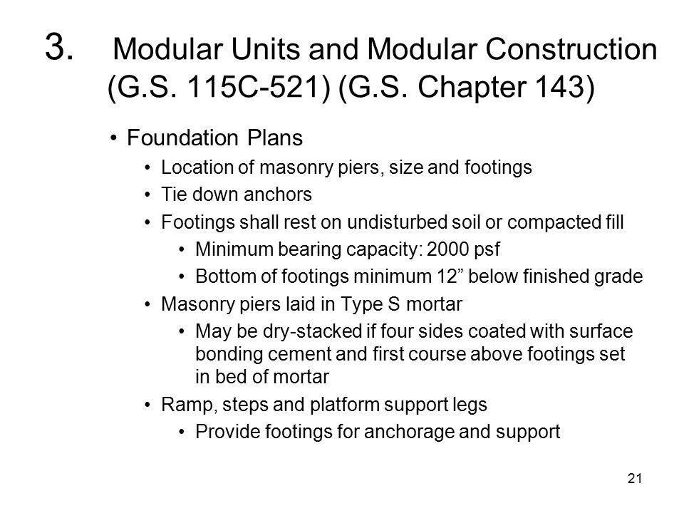 21 3. Modular Units and Modular Construction (G.S.