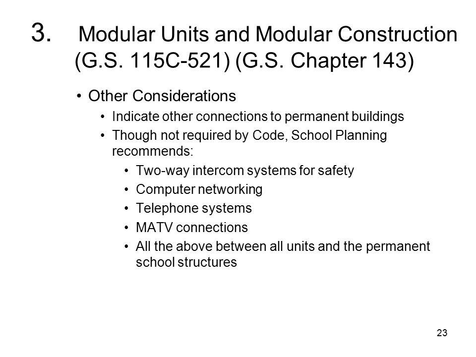 23 3. Modular Units and Modular Construction (G.S.