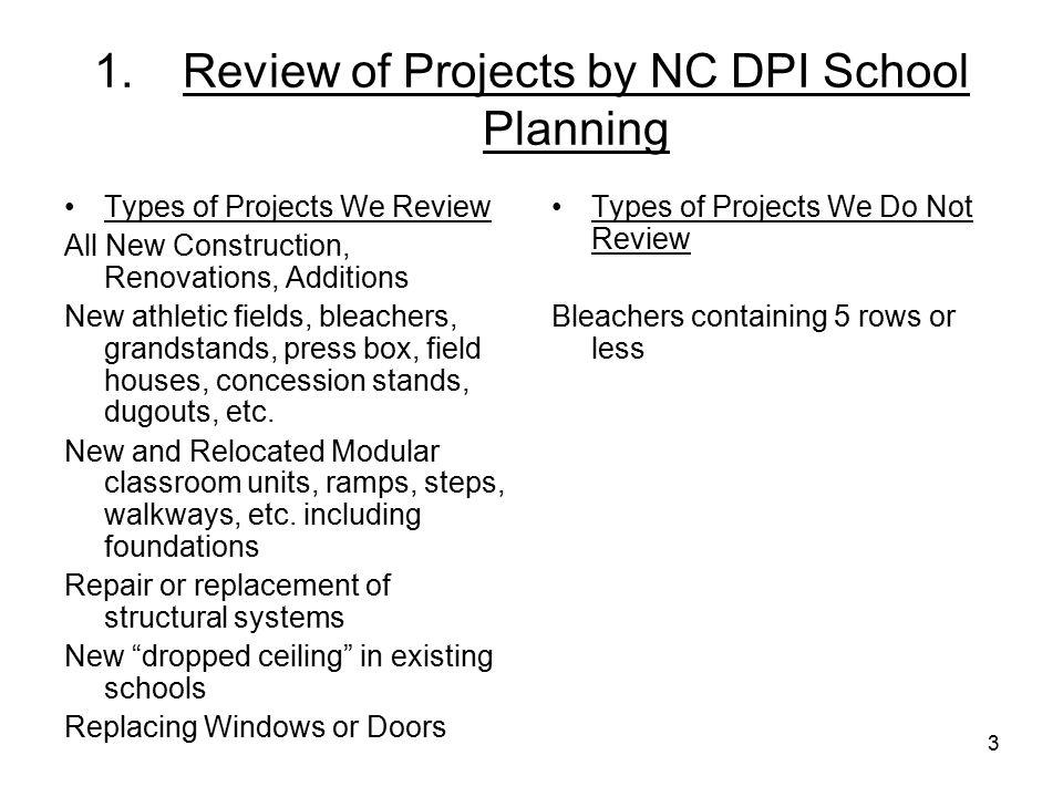 34 Bidding:Estimated Project Costs Informal Bids: [G.S.