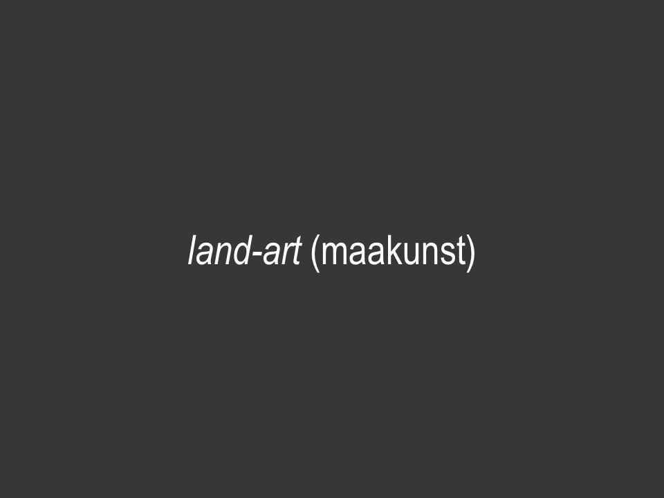 land-art (maakunst)