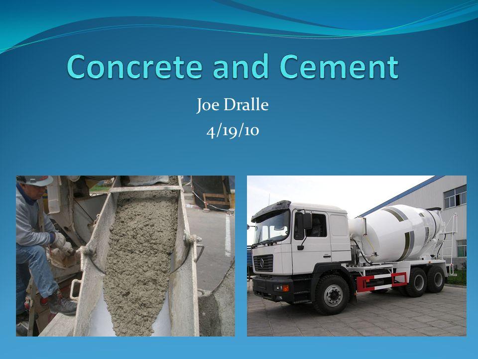 Why Concrete.