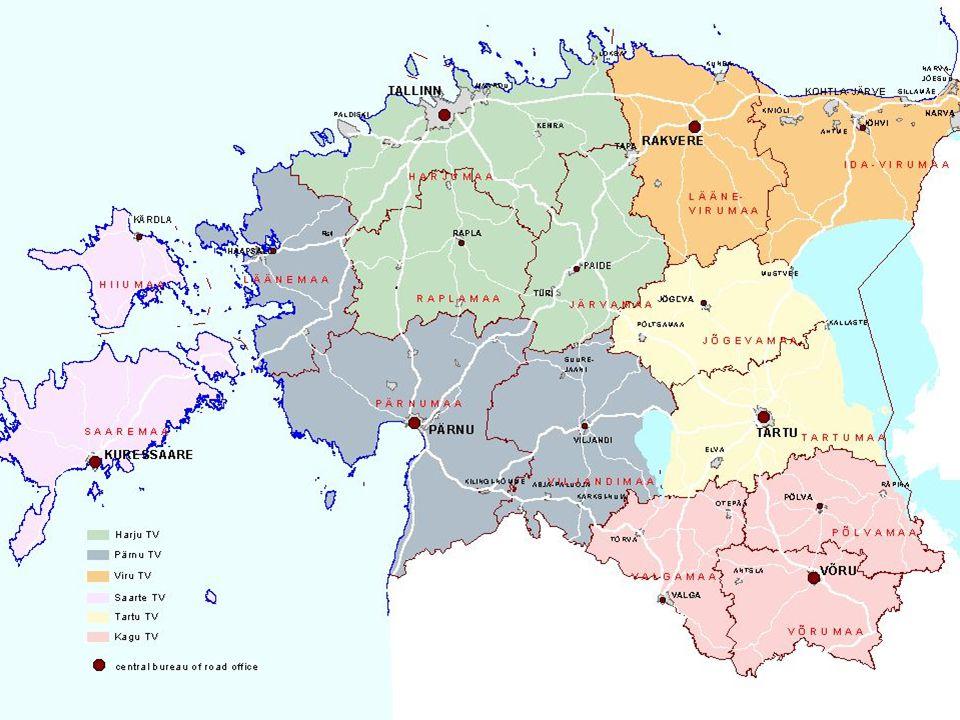 ESTONIAN ROAD ADMINISTRATION 10913 Pärnu mnt. 463a Tallinn, Estonia Tel.