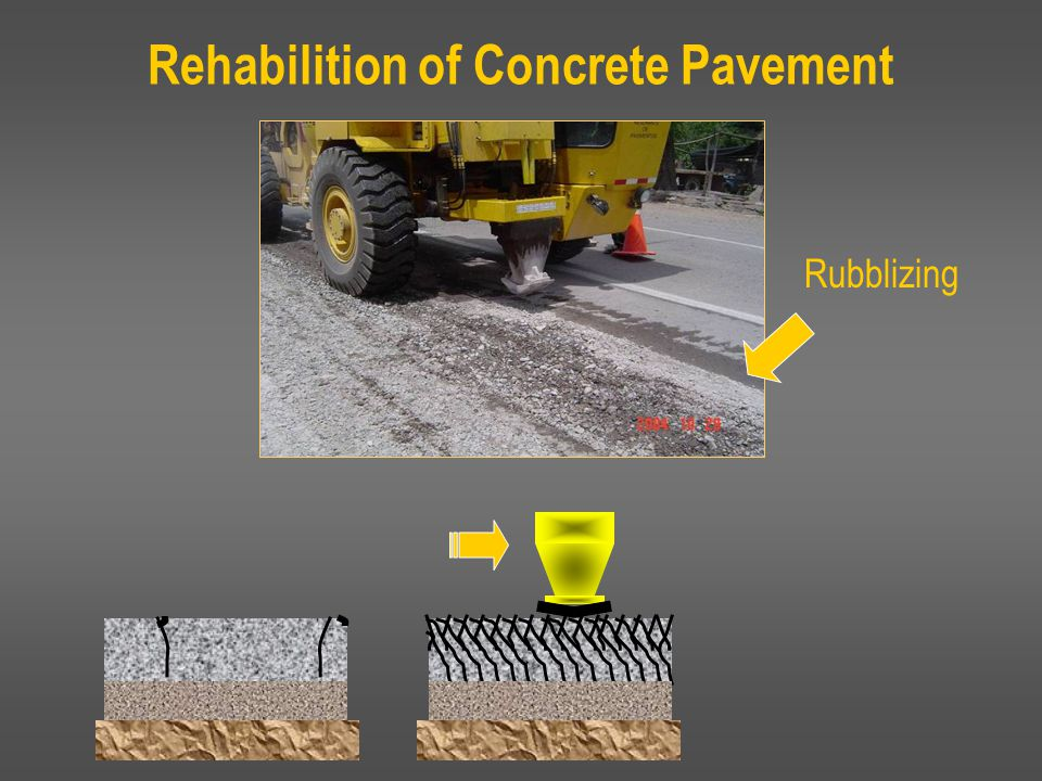 Structural Design: State Studies Over 20 Studies from Multiple States support that rubblizing provides: Long life for surfaces – 22+ years Smooth driving conditions Rubblization eliminates reflective cracking and dramatically reduces surface defects Alabama Michigan