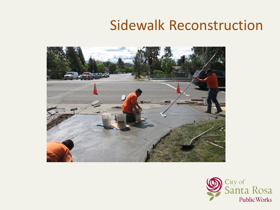 Sidewalk Reconstruction