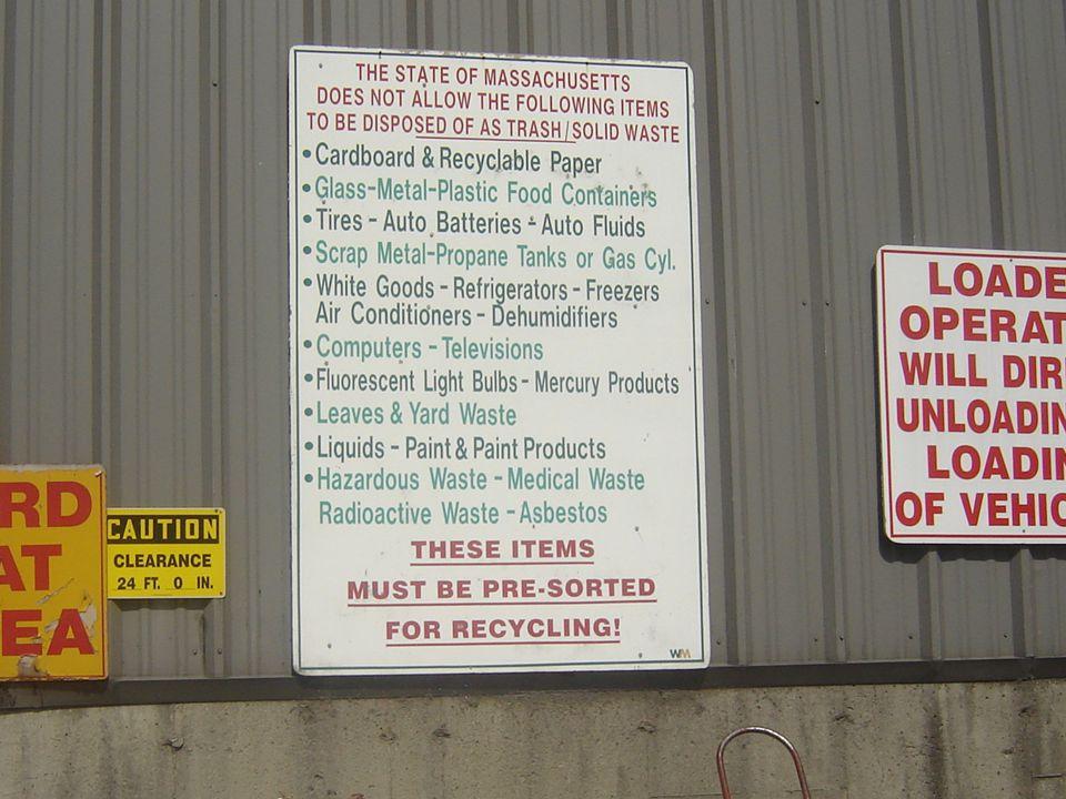 Example Signage
