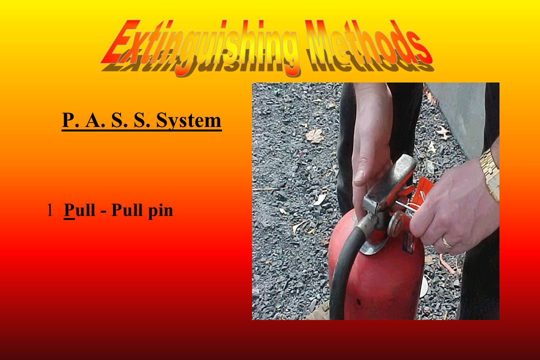 P. A. S. S. System 1Pull - Pull pin