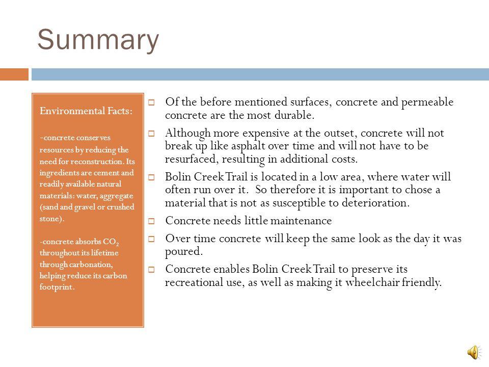 Recommendations Porous Concrete http://www.tececo.com/technical.permecocrete.php
