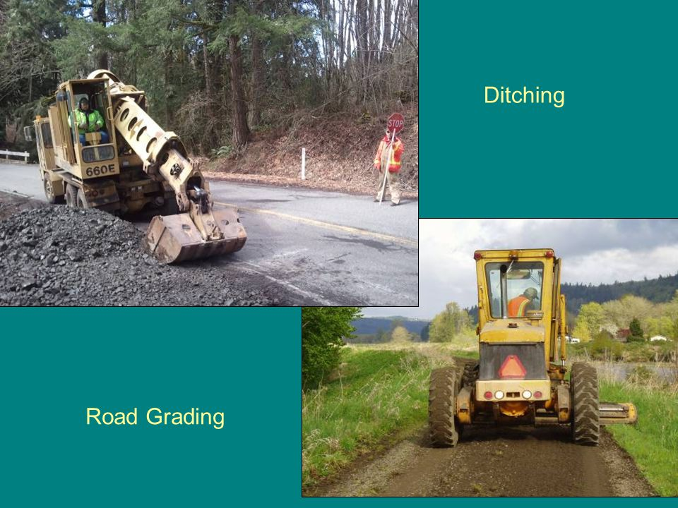 Columbia County Road Department Personnel & Mileage EMPLOYEES: Road Maintenance 13(includes supervisors) Mechanics 2 Signs 1 Office 5 Total 21 (25.5 in 2011) –COUNTY ROAD MILES:PavedGravelTotalEmployees Miles /Emp –Clatskanie District 79 55 135 345 –Rainier District 111 43 153 438 –St.