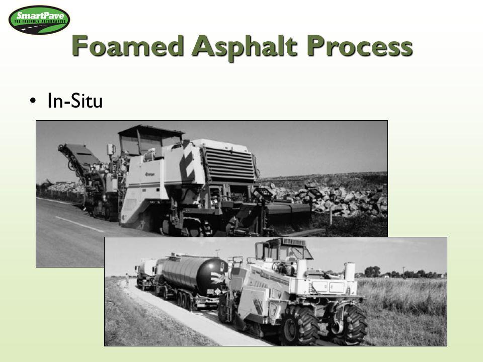 Foamed Asphalt Process In-Situ