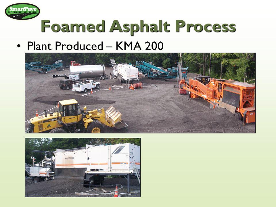 Foamed Asphalt Process Plant Produced – KMA 200