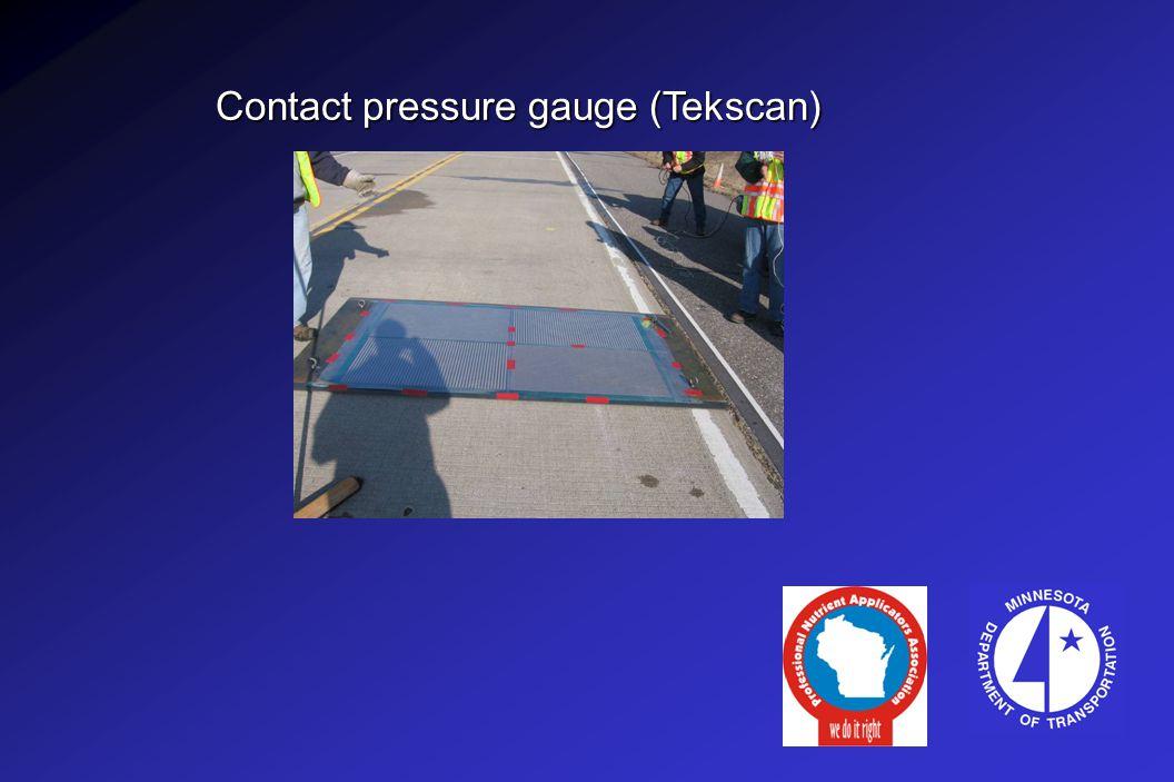 Contact pressure gauge (Tekscan)