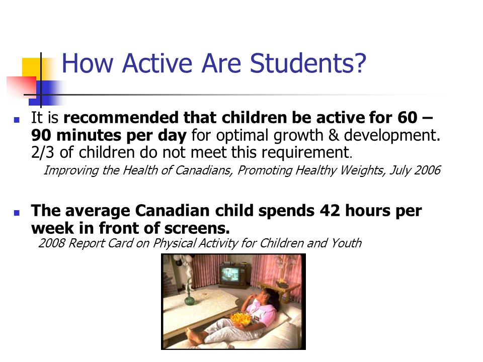 How Active Are Students.