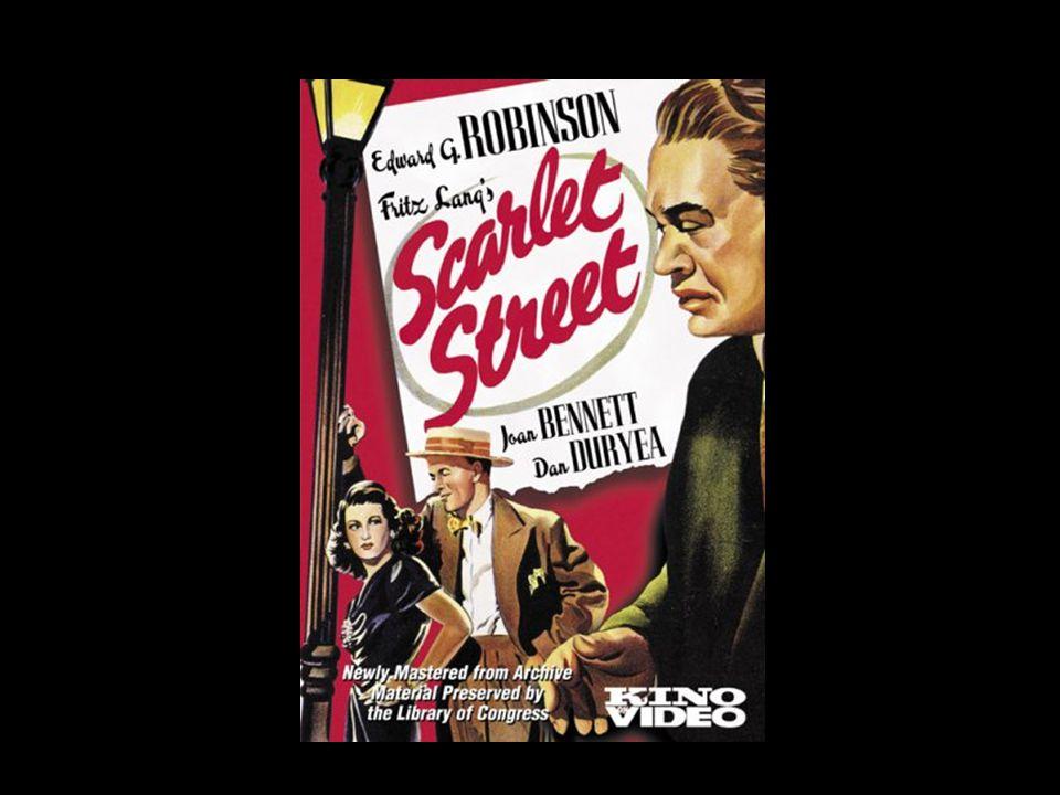 Scarlet Street Fritz Lang (1945)