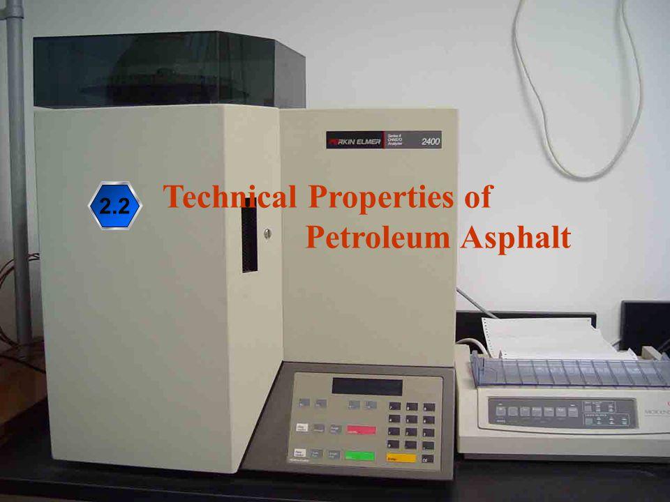 28 2.2 Technical Properties of Petroleum Asphalt