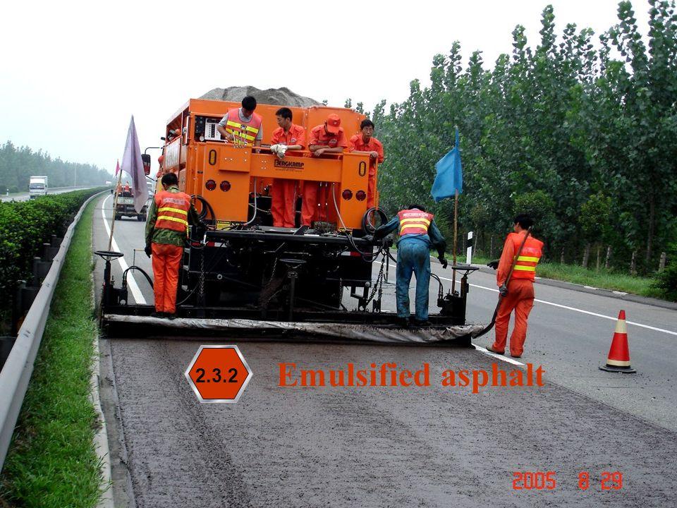 56 Emulsified asphalt 2.3.2