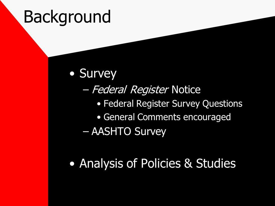 Effects of Policies: Academic Studies Transportation Research Board, Richards, et al, 1985 Findings: Flagging & law enforcement were best methods.