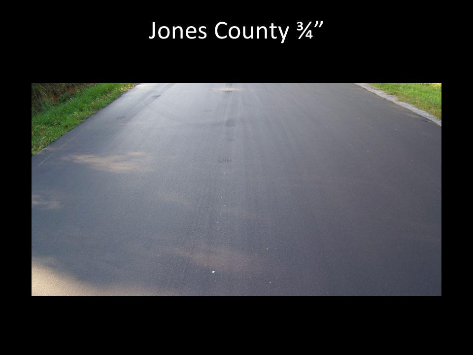 """Jones County ¾"""""""