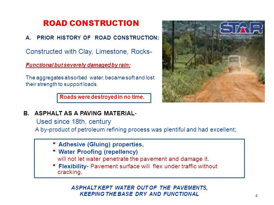 ROAD CONSTRUCTION A.
