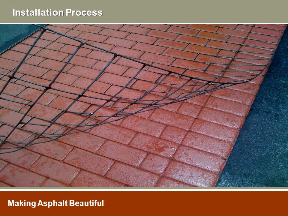 Making Asphalt Beautiful Installation Process Making Asphalt Beautiful