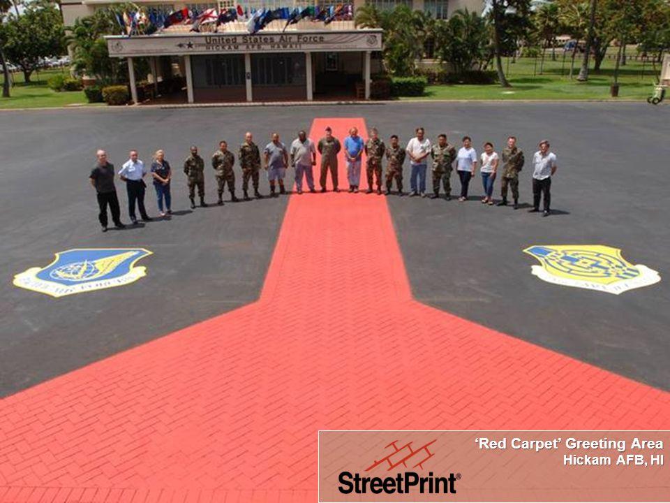 'Red Carpet' Greeting Area Hickam AFB, HI