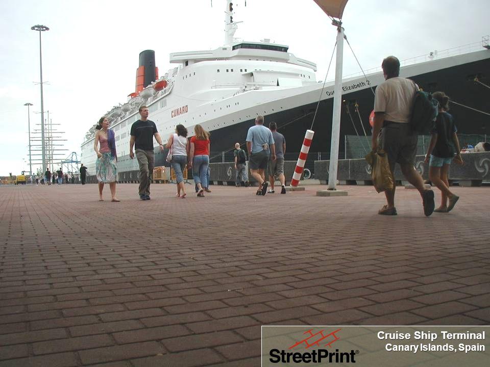 Making Asphalt Beautiful Cruise Ship Terminal Canary Islands, Spain