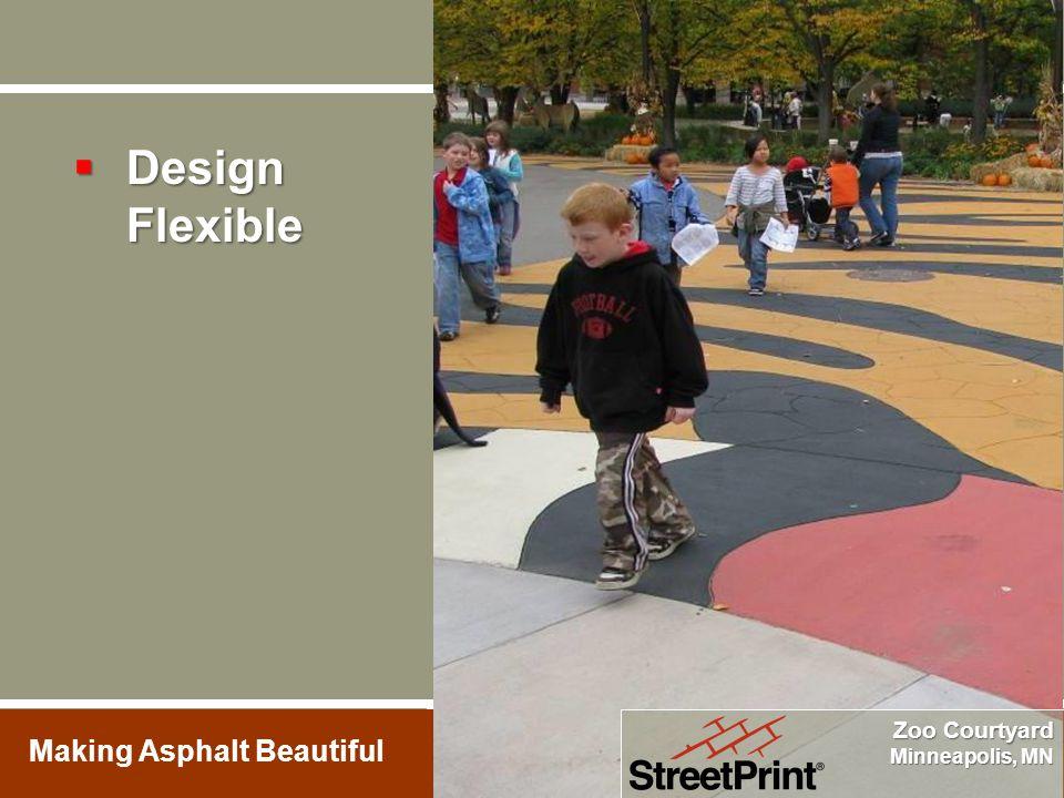 Zoo Courtyard Minneapolis, MN  Design Flexible
