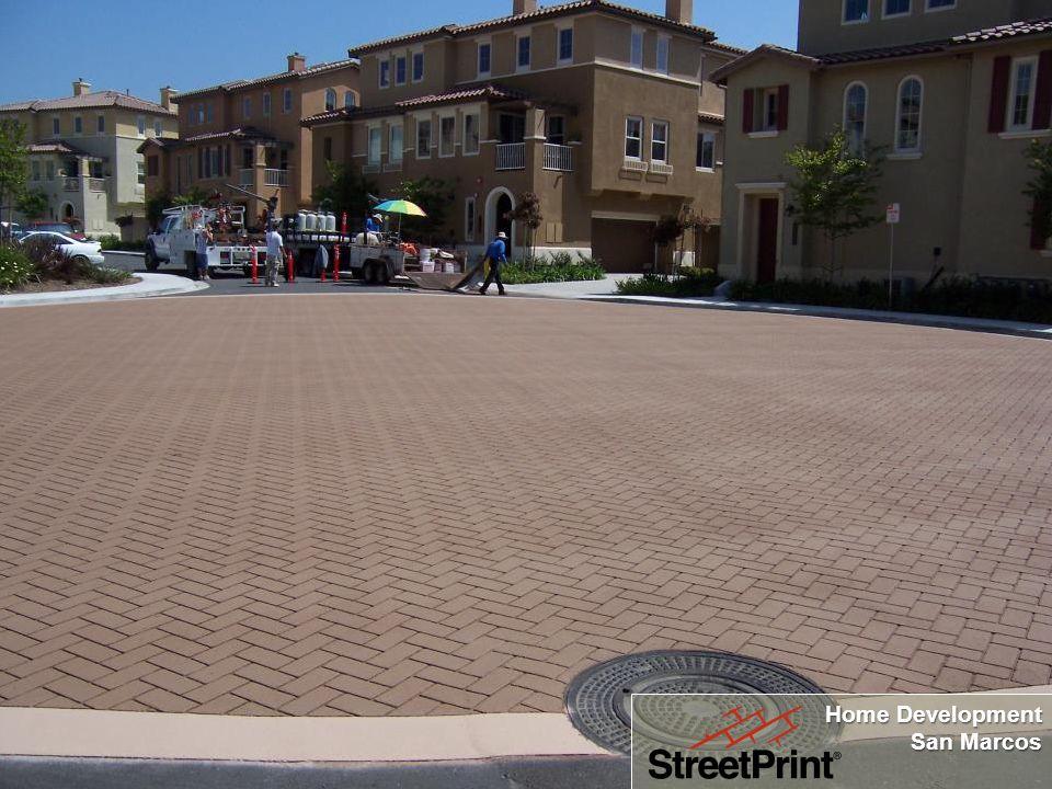 Making Asphalt Beautiful Home Development San Marcos