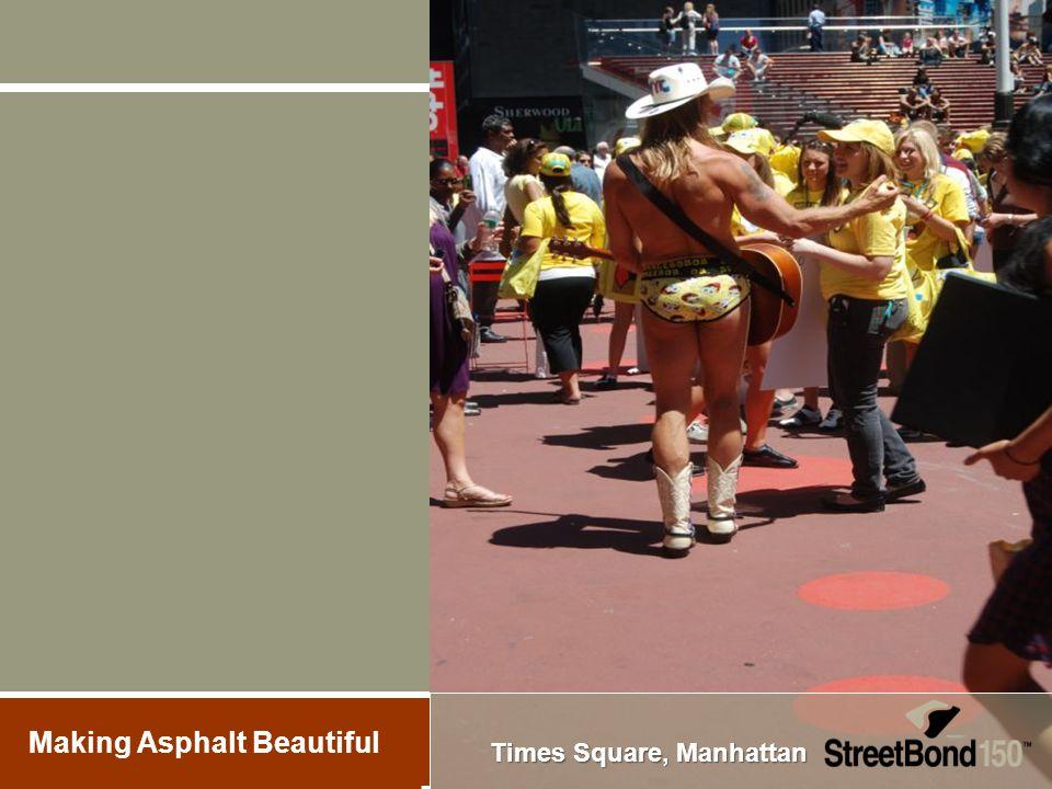 Times Square, Manhattan Making Asphalt Beautiful