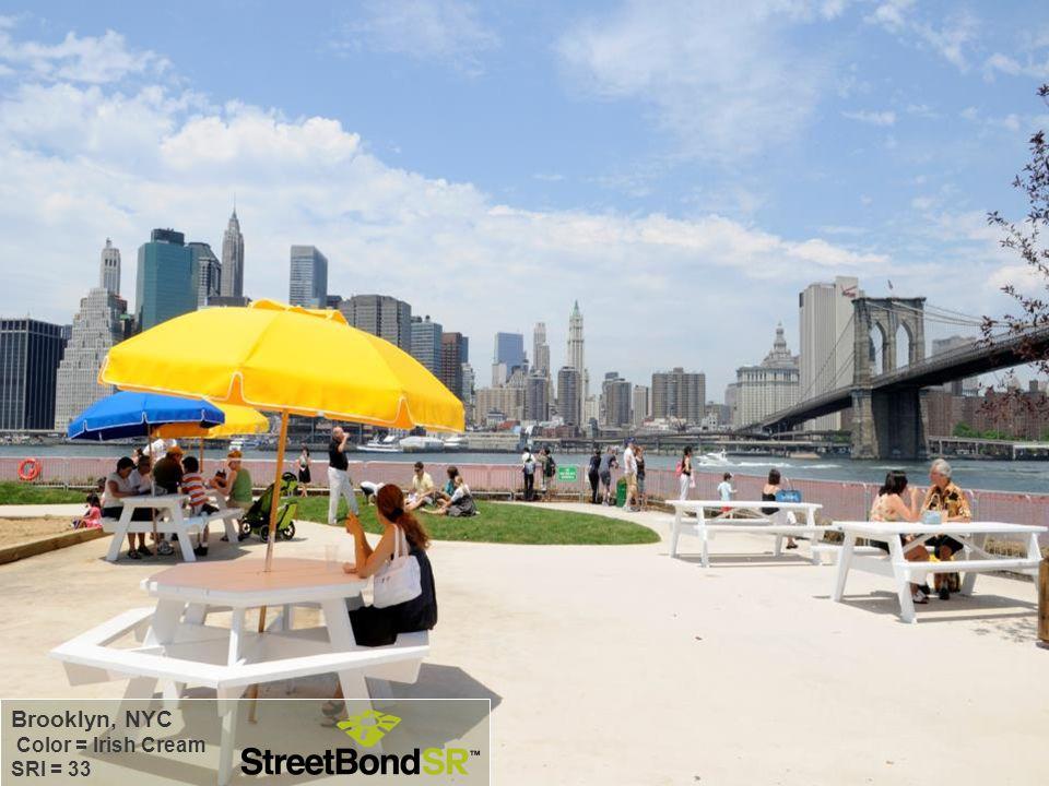 Brooklyn, NYC Color = Irish Cream SRI = 33