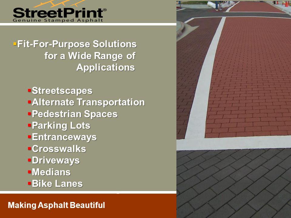 Making Asphalt Beautiful Thank You.Shariden Design Asphalt, Inc.