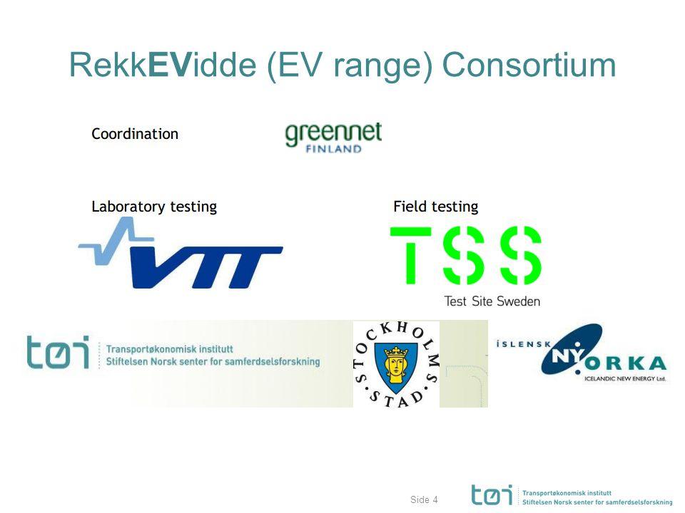 Side RekkEVidde (EV range) Consortium 4