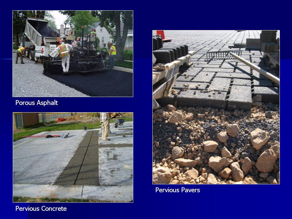 Pervious Pavers Porous Asphalt Pervious Concrete