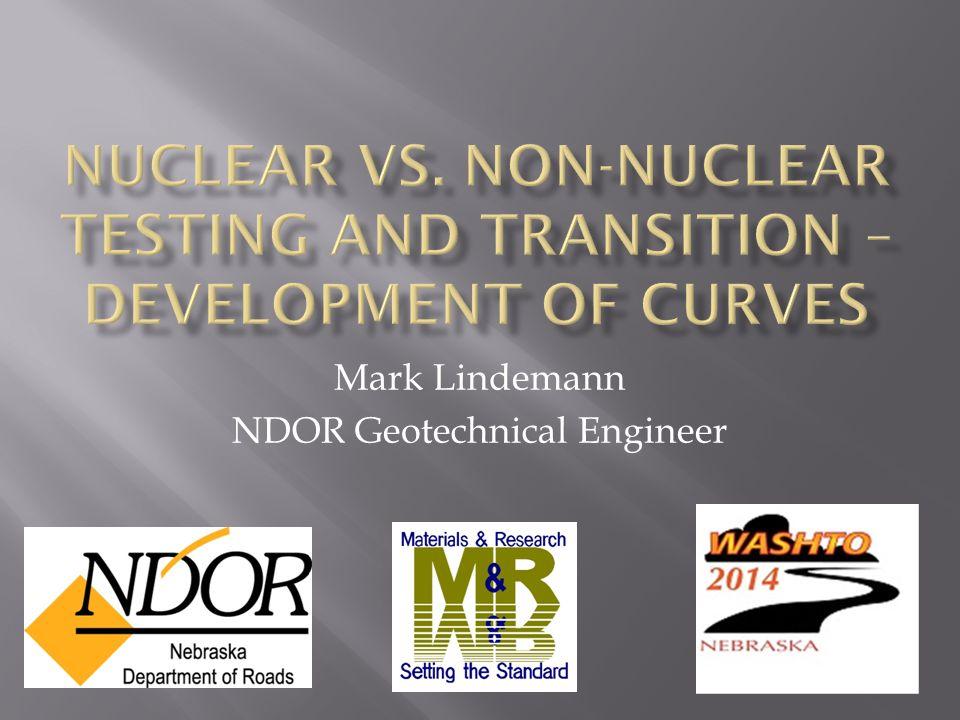 Mark Lindemann NDOR Geotechnical Engineer