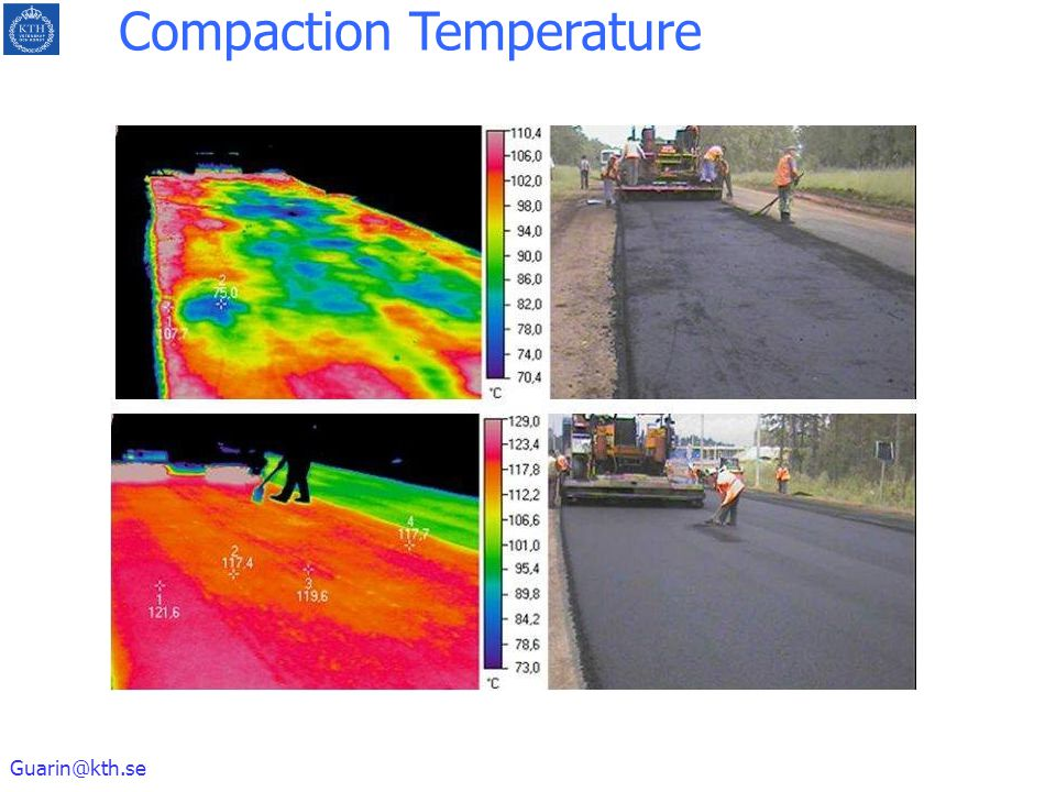 Guarin@kth.se Compaction Temperature