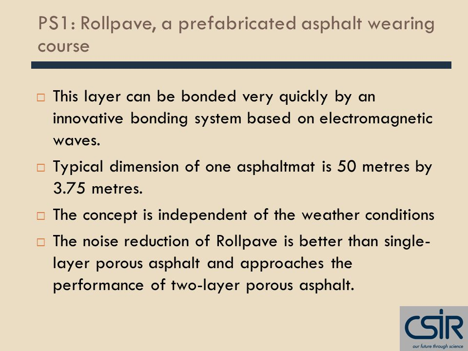  This layer can be bonded very quickly by an innovative bonding system based on electromagnetic waves.