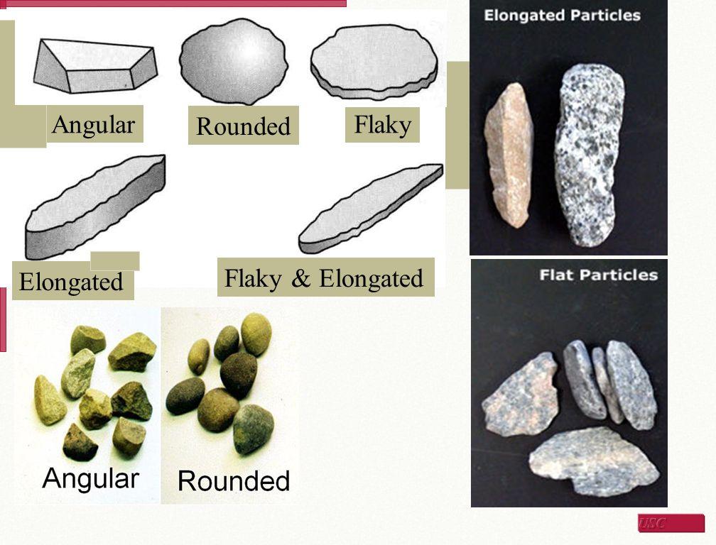 Coarse Aggregates Particle Shape Evaluation  Shape – Flat and elongated test Flat and elongated device Flat Elongated Flat and Elongated
