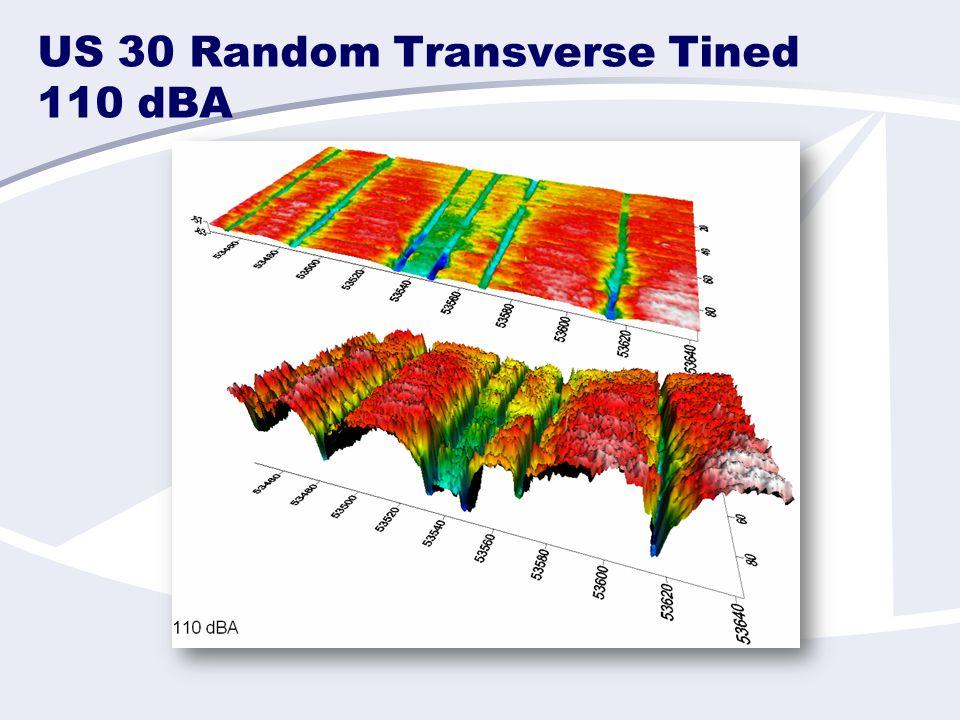 US 30 Random Transverse Tined 110 dBA