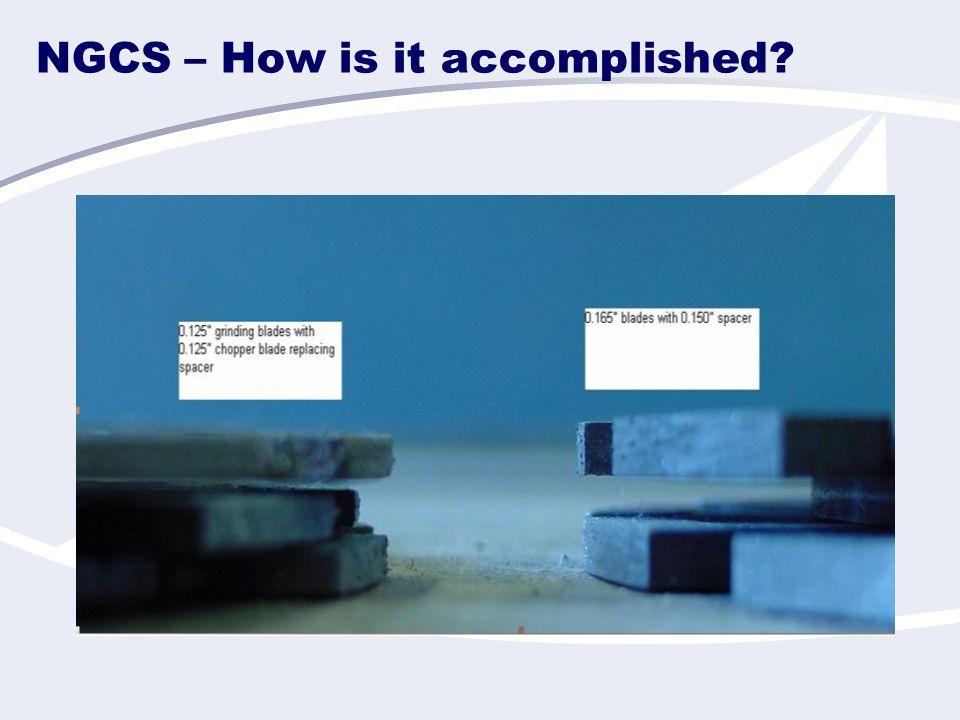 NGCS – How is it accomplished