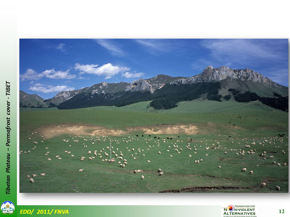 EDD/ 2011/ FNVA Tibetan Plateau – Permafrost cover - TIBET 12