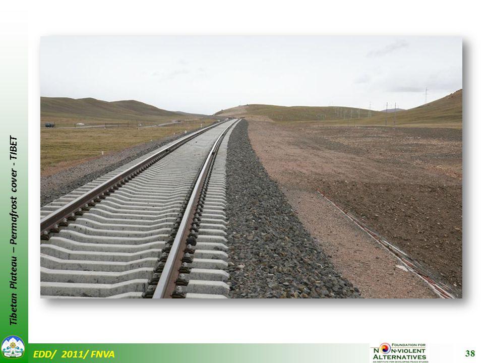 EDD/ 2011/ FNVA Tibetan Plateau – Permafrost cover - TIBET 38