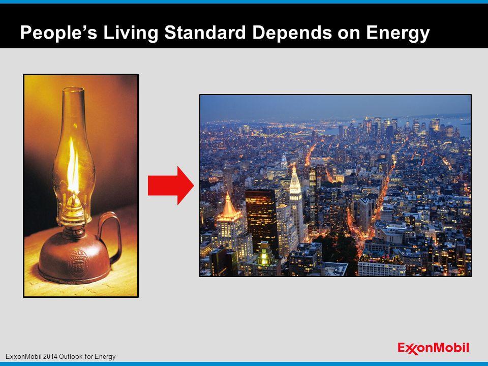 Global Energy Trade ExxonMobil 2014 Outlook for Energy Indicative trade flows