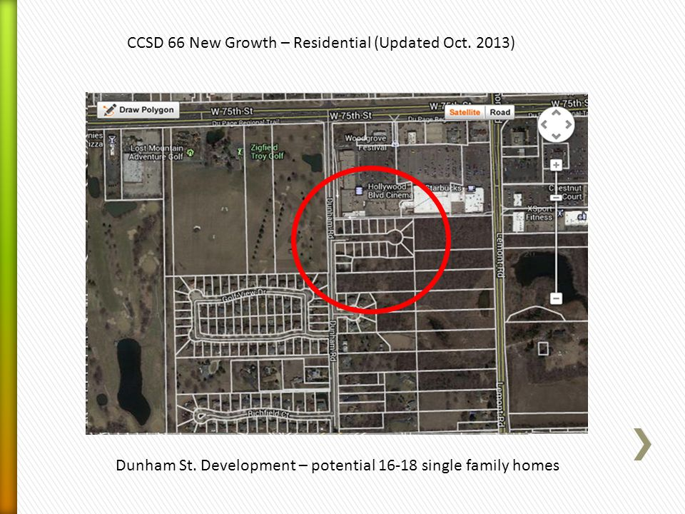 CCSD 66 New Growth – Residential (Updated Oct. 2013) Dunham St.