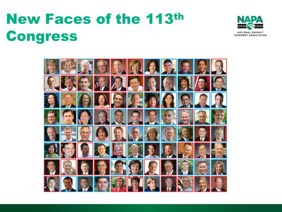 New Faces of the 113 th Congress
