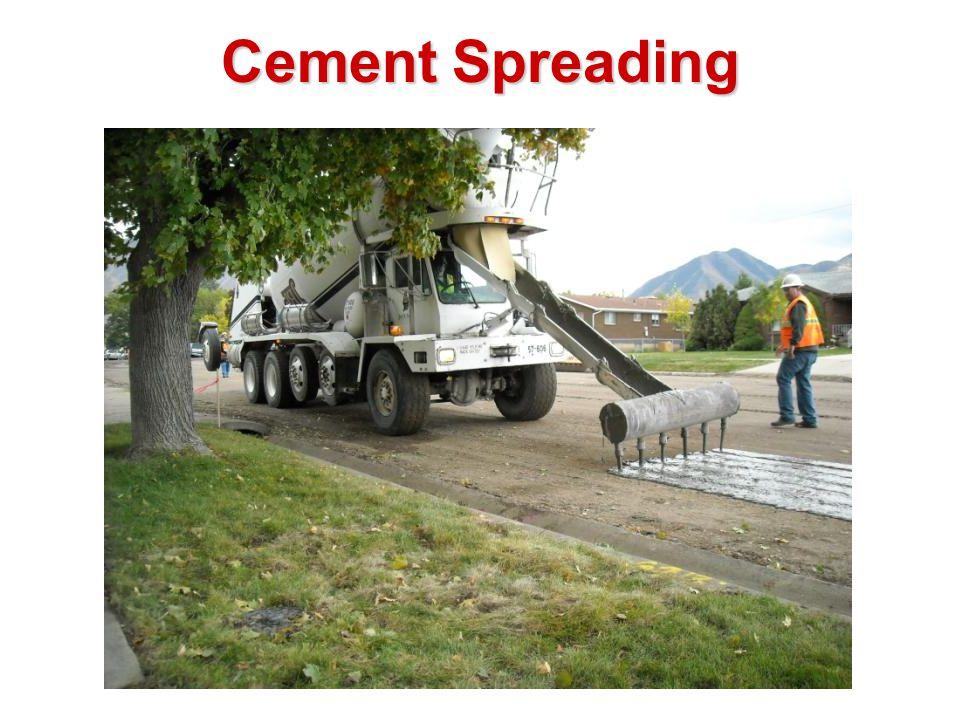 Cement Spreading