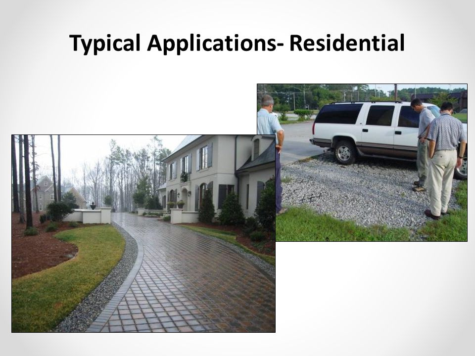 Typical Applications- Residential