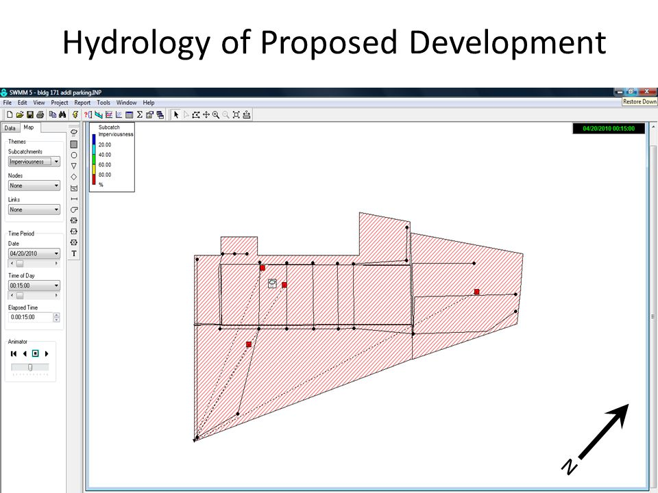 Hydrology of Proposed Development N