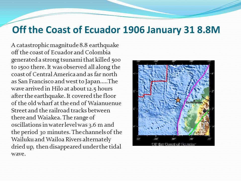 Rat Islands, Alaska 1965 Feb 3 Magnitude 8.7 On Adak Island, cracks occurred in prefabricated wood buildings; on Shemya Island, cracks were observed in an asphalt runway.