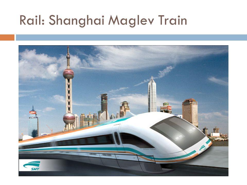 Rail: Shanghai Maglev Train