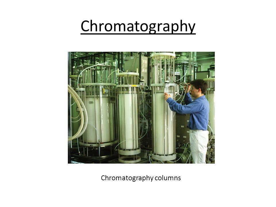 Chromatography Chromatography columns